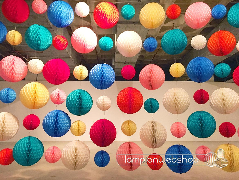Muur-van-honeycombs