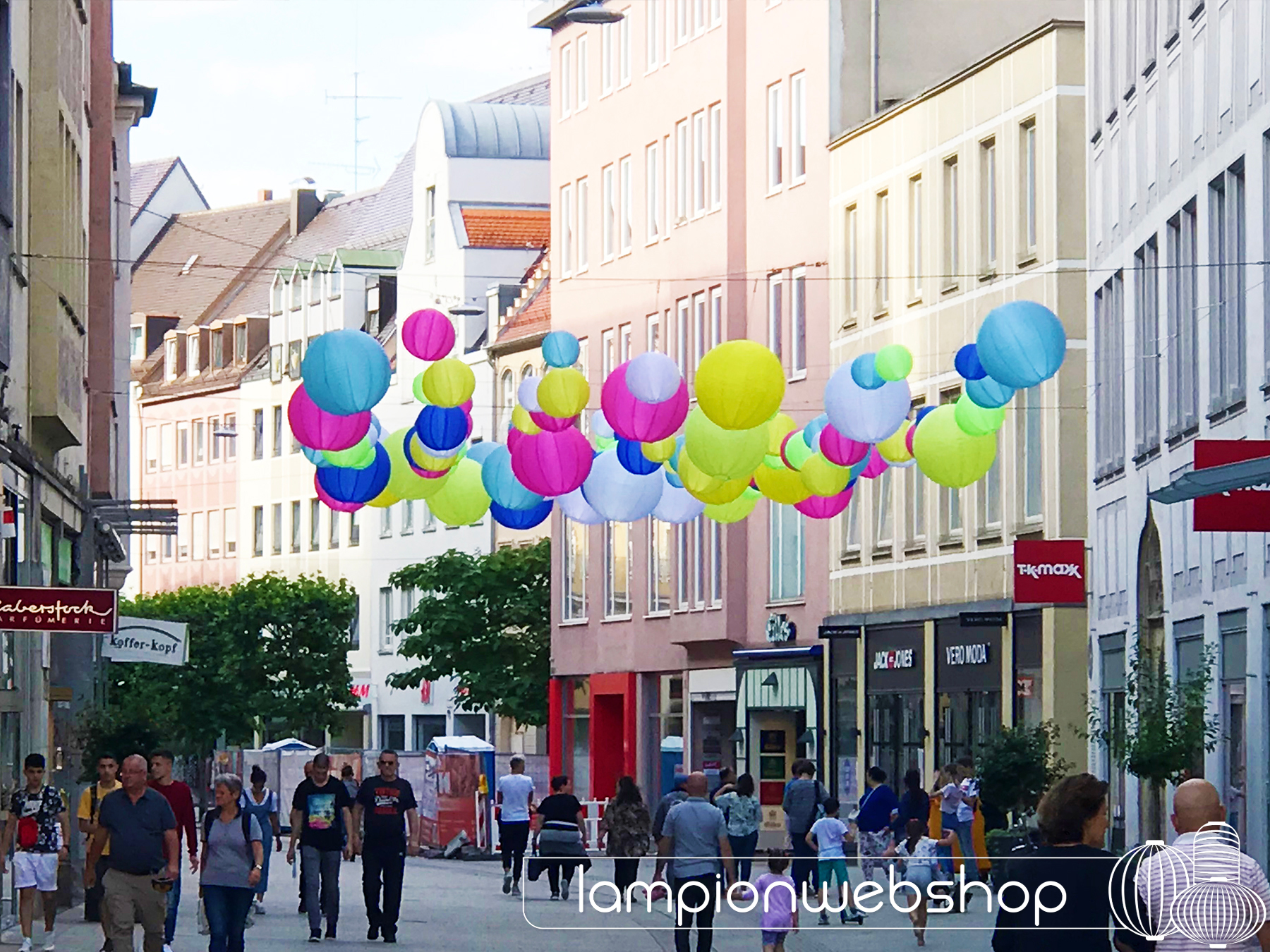 winkelstraat-decoratie