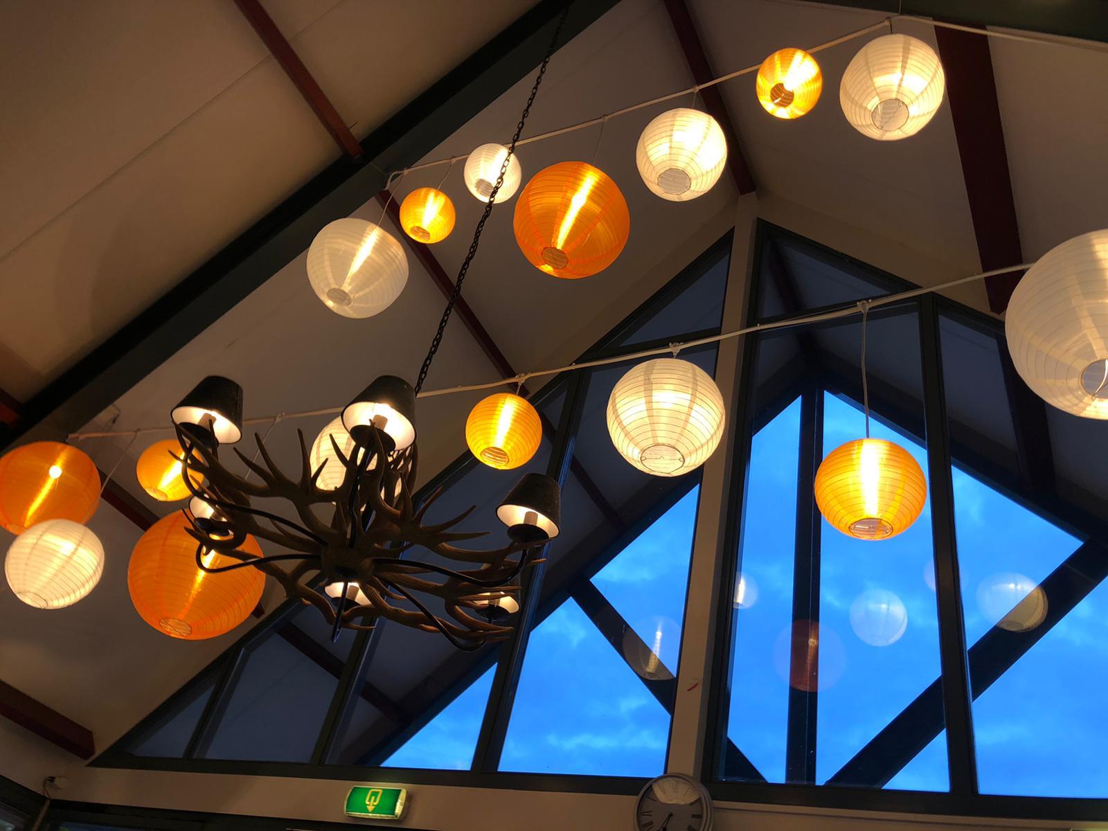 Lampionnen Entree droomparken Otterloo - Lampionwebshop