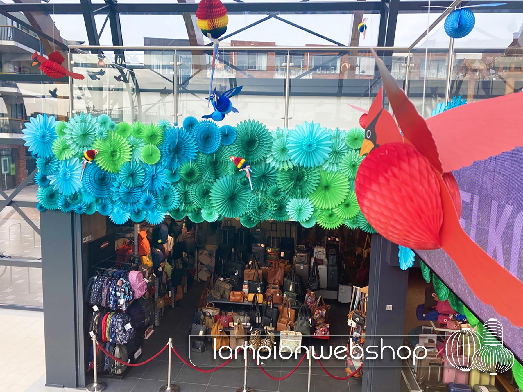 jungle style winkecentrum decoratie