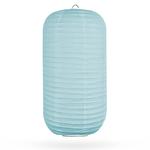 Lampion cilinder kristalblauw 45cm