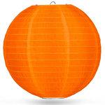 Nylon lampion oranje 80cm