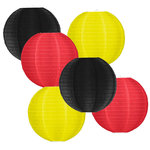 Lampionpakket - Flag Black Red Yellow - 30-delig N/M