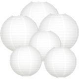Lampionpakket - 40-delig - wit