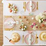 Decoratiepakket - Pastel Easter - 7-delig - inclusief decoratieframe_