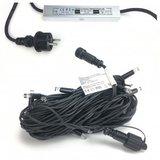 Lampionpakket - Okergeel & Kiezelgrijs - 20-delig - incl. LED string 01