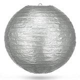 Lampion zilver 50 cm