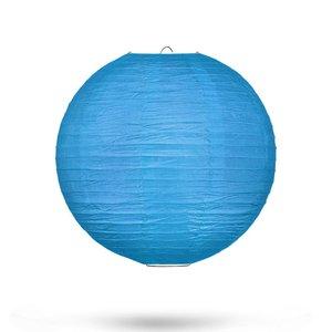 Lampion blauw 25cm