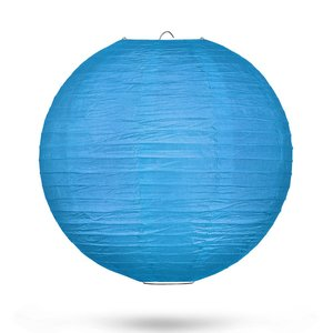 Lampion blauw 35cm