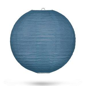 Lampion leisteenblauw 35cm