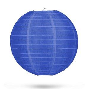 Nylon lampion donkerblauw 35cm