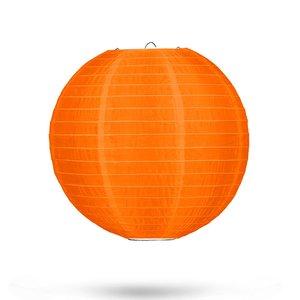 Nylon lampion oranje 25cm