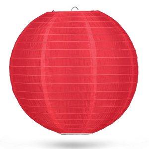Nylon lampion rood 50cm