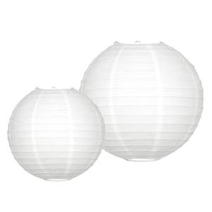Lampionpakket - 10 delig - Wit