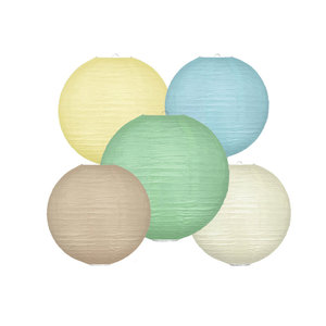 Lampionpakket - Natural Pastel - 10-delig