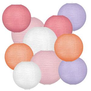 Lampionpakket - Spring Pastel - 40-delig