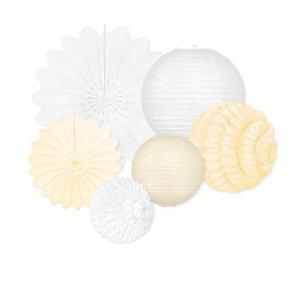 Decoratiepakket - White & Ivory - 20-delig