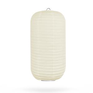 Lampion ivoor cilinder 35cm