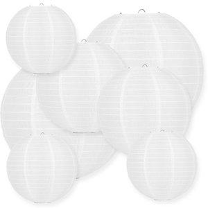 Lampionpakket - Nylon White - 40-delig