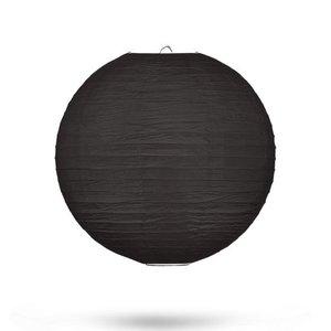 Lampion zwart 25cm