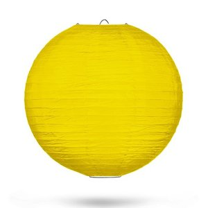 Lampion geel 35cm