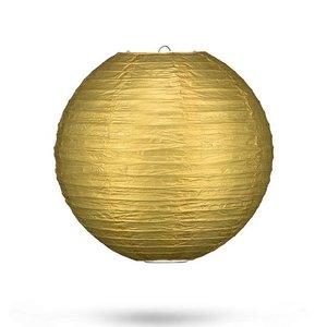 Lampion goud 25cm