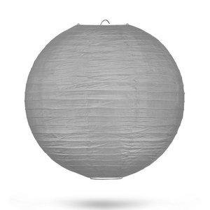 Lampion grijs 35 cm