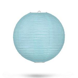 Lampion kristalblauw 25cm