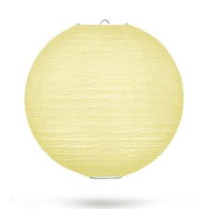 Lampion lichtgeel 35cm