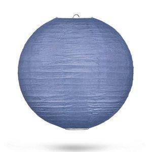 Lampion marineblauw 35cm