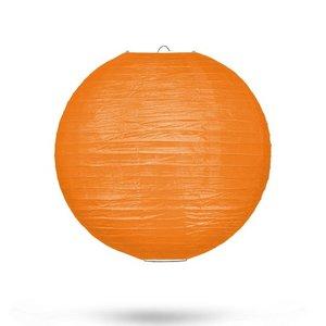 Lampion oranje 25cm