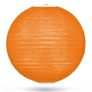 Lampion oranje 50cm