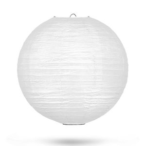 Lampion wit 35cm