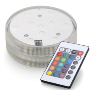 LED Base RGB met afstandbediening