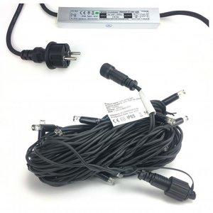 Startset - LED string met 20 warm witte lampjes incl. transformator