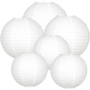 Lampionpakket - Basic White - 40-delig