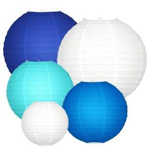 Lampionpakket - Blauw - 20-delig