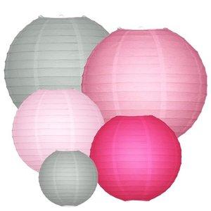 Lampionpakket - Colour me Pink - 20-delig