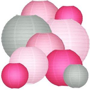 Lampionpakket - Colour me Pink - 40-delig