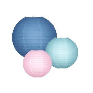 Lampionpakket - Duck Egg & Blush - 10-delig