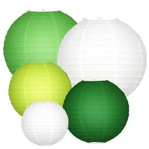 Lampionpakket - Groen - 20-delig