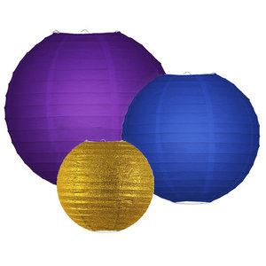 Lampionpakket - Peacock pallet - 10-delig