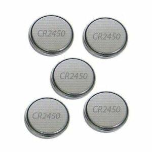 CR2450 batterij 5-pack