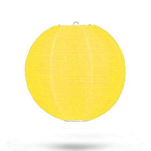 lampion-nylon-geel-25cm
